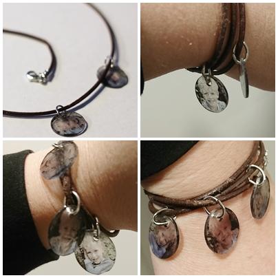 armband collage