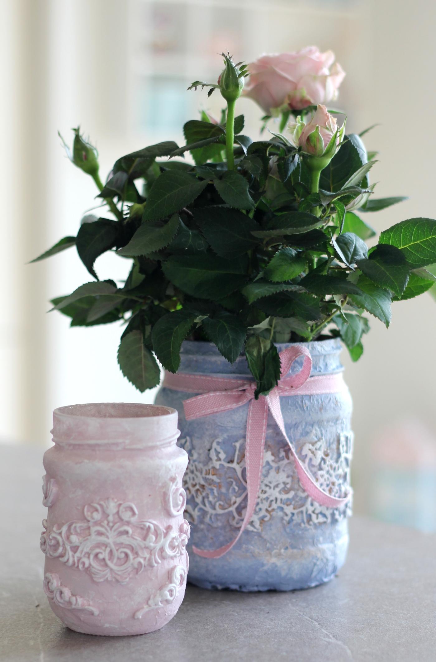 Gut bekannt DIY : Vintage Blumentöpfe selber machen – Frau Praktisch WV25
