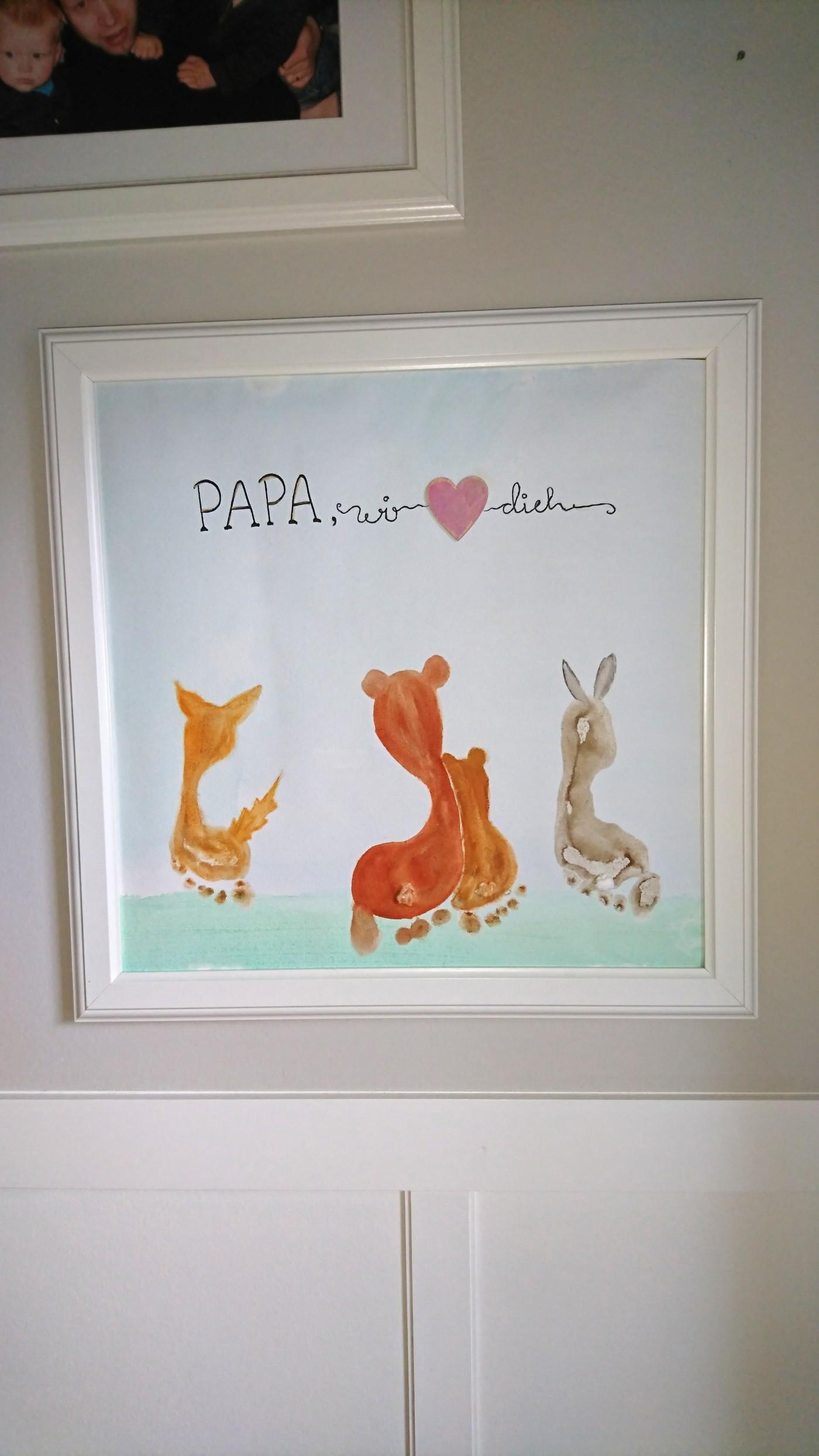 papa wir lieben dich vatertagsgeschenk frau praktisch. Black Bedroom Furniture Sets. Home Design Ideas